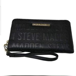 STEVE MADDEN Clutch Zip Around Wallet Lo